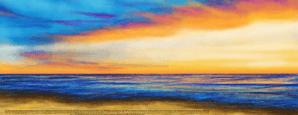 Havdalah Sunset Ketubah